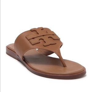 Tory Burch Weston Full Logo Thong Sandal